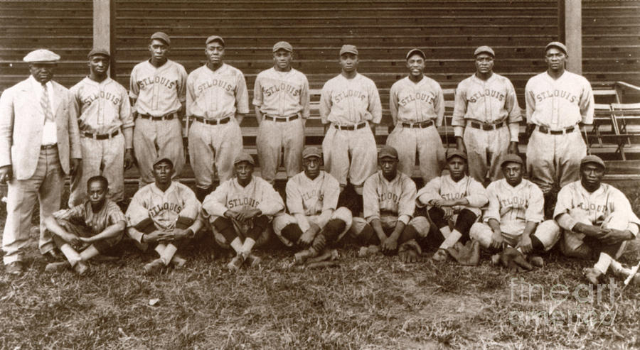 1927 Photograph - Baseball: Negro Leagues by Granger