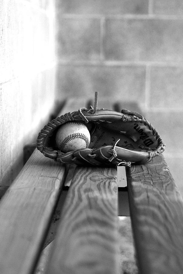 Photograph Photograph - Baseball Still Life by Susan Schumann