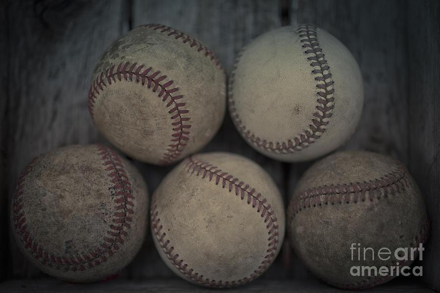 Baseballs Photograph