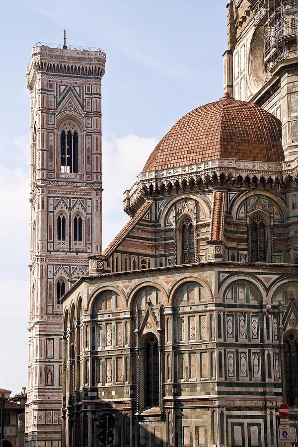 Cityscape Photograph - Basilica Di Santa Maria Del Fiore  by Carl Jackson