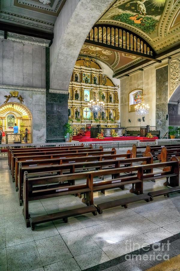 Catholic Photograph - Basilica Minore Del Santo Nino by Adrian Evans