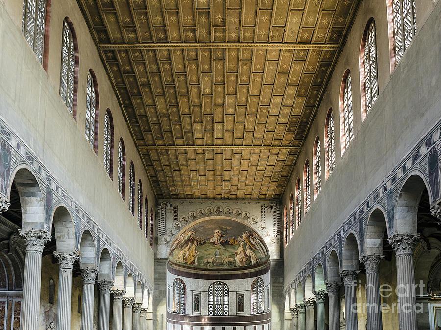 Apse Photograph - Basilica Of Saint Sabina by John Greim