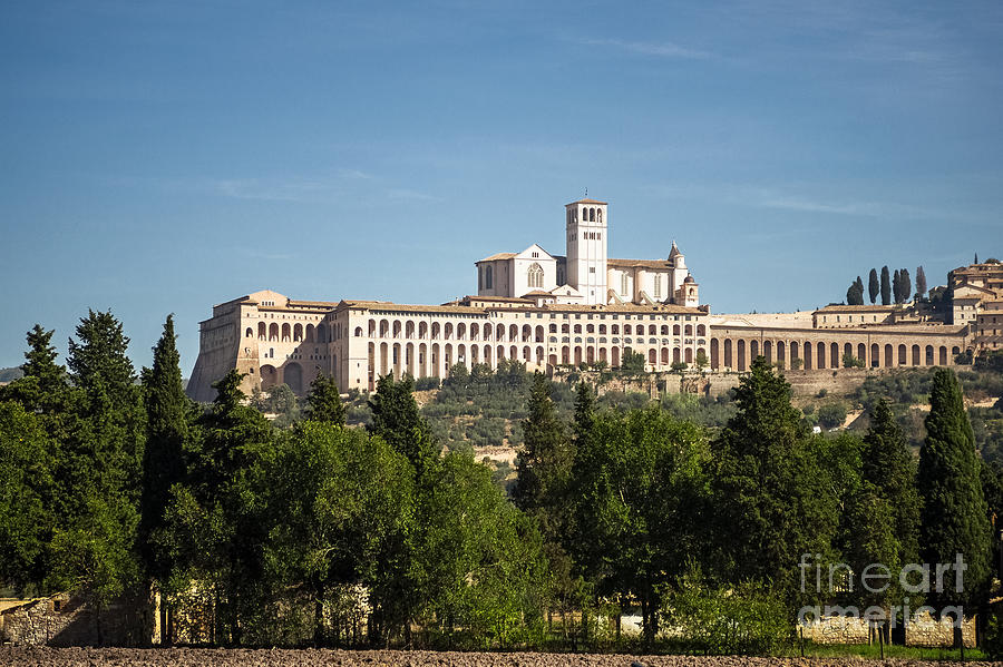 Basilica of San Francesco d'Assisi by Prints of Italy
