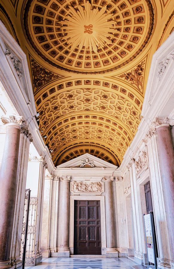Joan Carroll Photograph - Basilica Of Santa Maria Maggiore Rome II by Joan Carroll