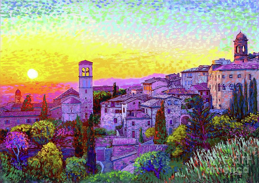 Basilica Of St. Francis Of Assisi Painting