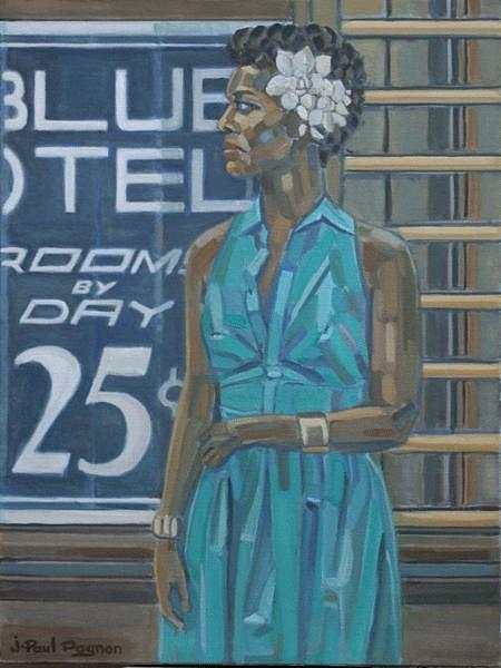 Basin Street Blues Painting by Jean-paul PAGNON