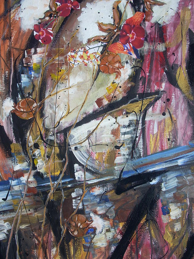 Basketball Painting - Basket-bol Dreams by Hasaan Kirkland