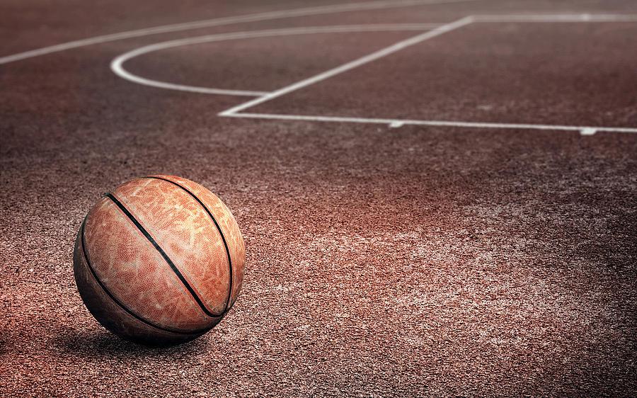 Basketball Digital Art - Basketball by Dorothy Binder