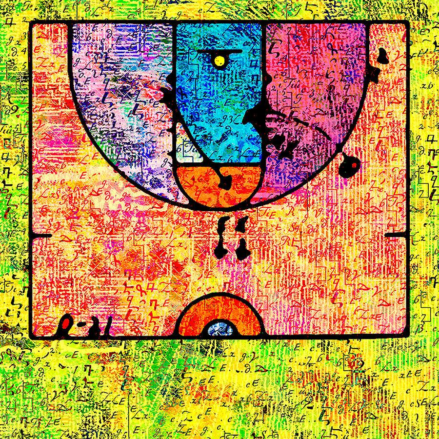 Basketball Digital Art by Nils Denker