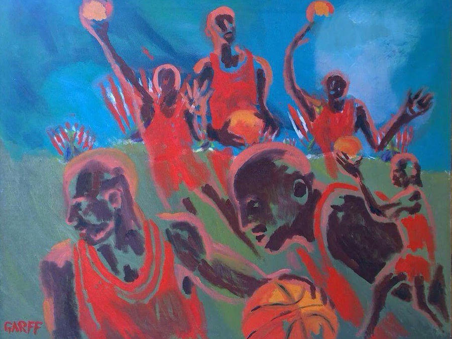 Basketball Painting - Basketball Soul by Enrico Garff