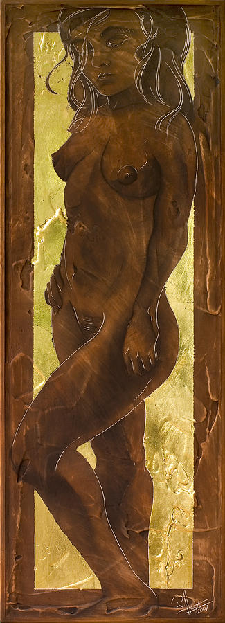 Nude Painting - Basking In The Glow by Richard Hoedl