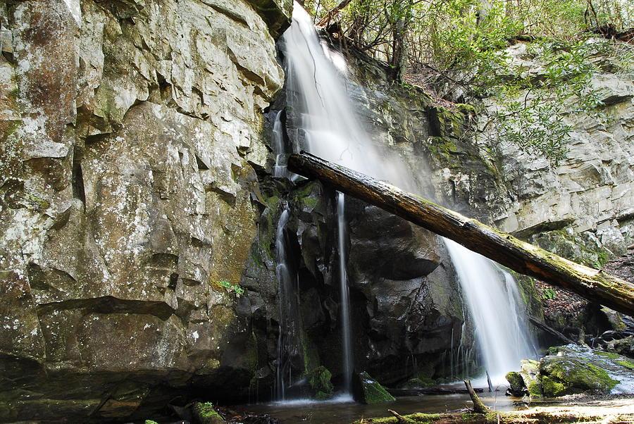 Landscape Photograph - Baskins Creek Falls by James Elam
