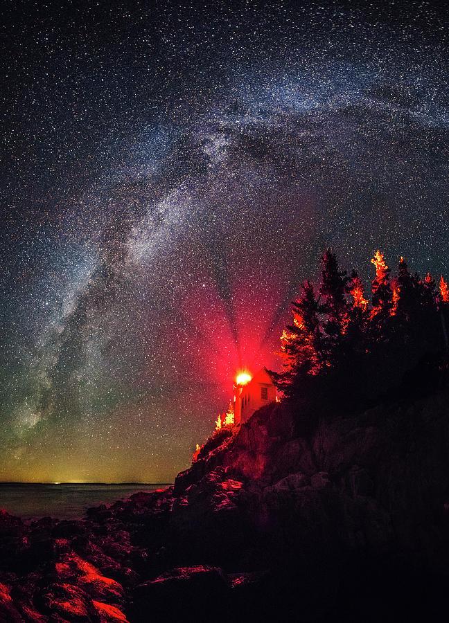 Acadia Photograph - Bass Harbor Head Light by Robert Clifford