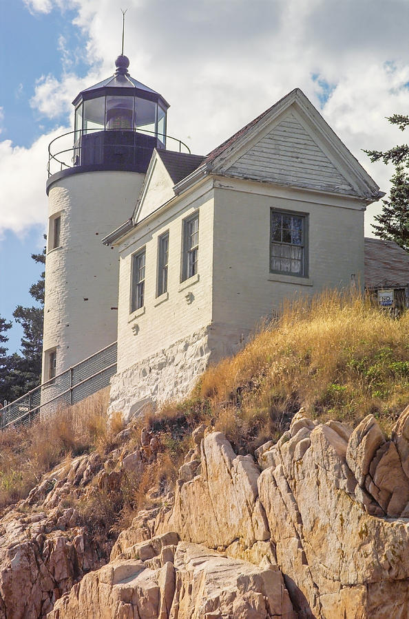 Lighthouse Photograph - Bass Harbor Light Photo by Peter J Sucy