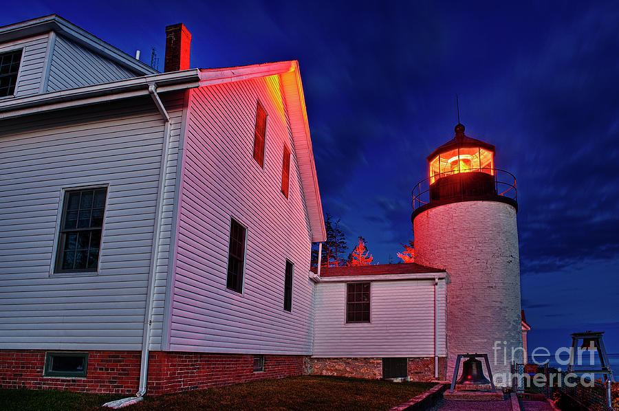 Acadia Photograph - Bass Harbor Lighthouse Maine by John Greim