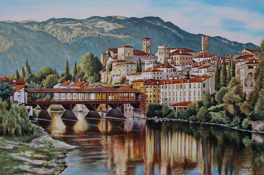 Bassano del grappa painting by andy lloyd for Arredamenti bassano del grappa