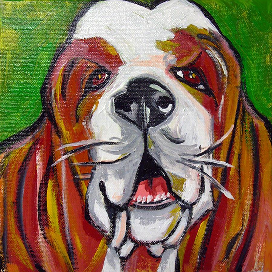 Basset Hound Painting - Basset Hound by Ilene Richard