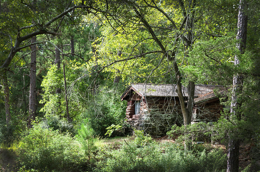 Bastrop Photograph - Bastrop Cabin by Brian Kinney