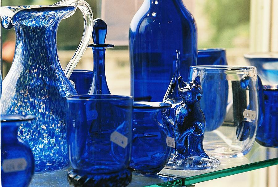 Bath Photograph - Bath Glass by Lauri Novak