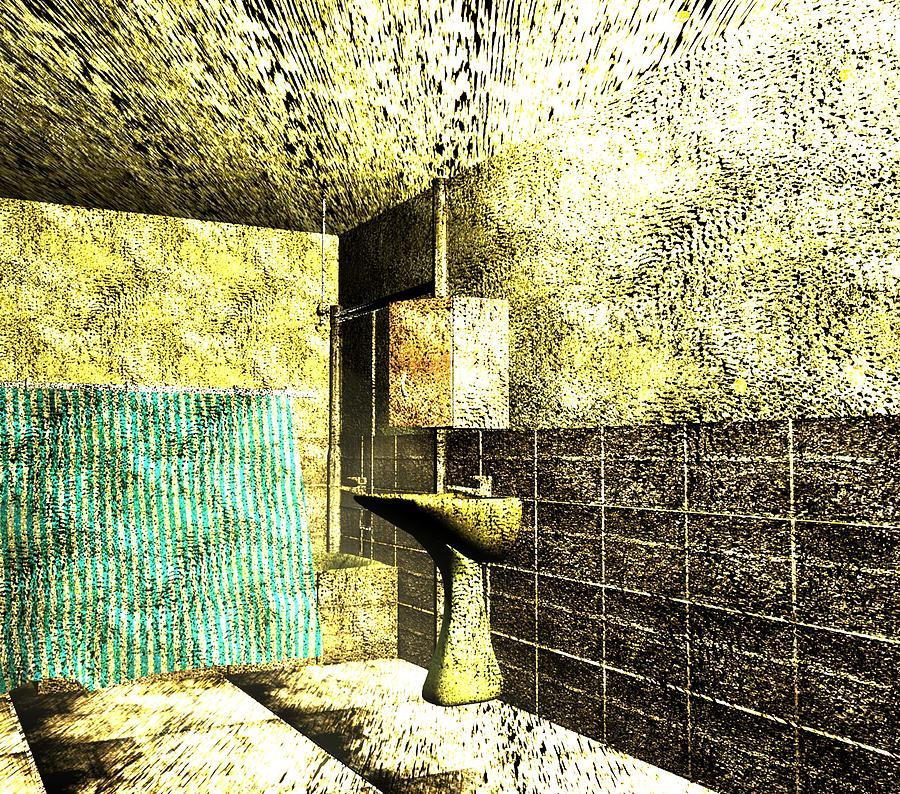 Bath Light Digital Art by Rosu Bogdan