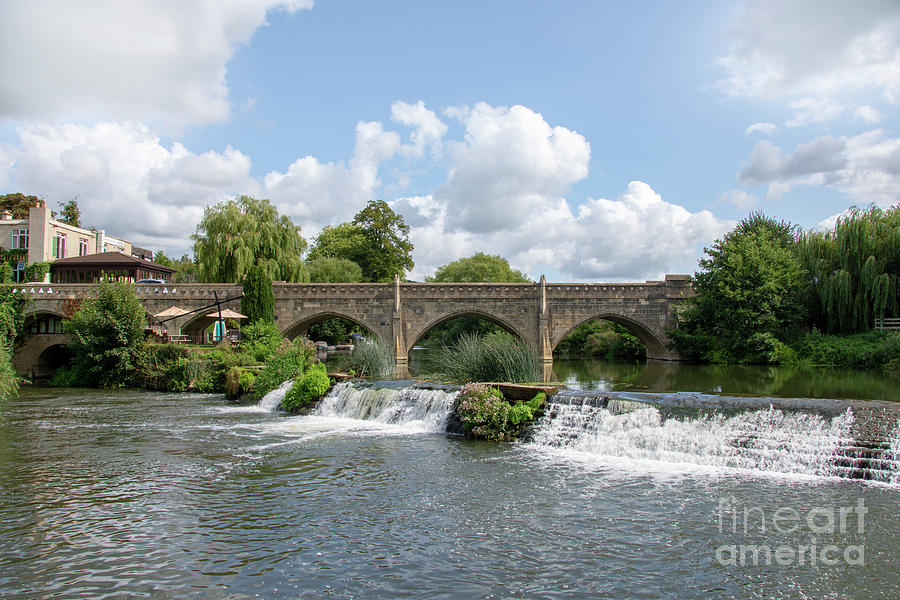 River Avon Photograph - Bathampton Bridge by Steev Stamford