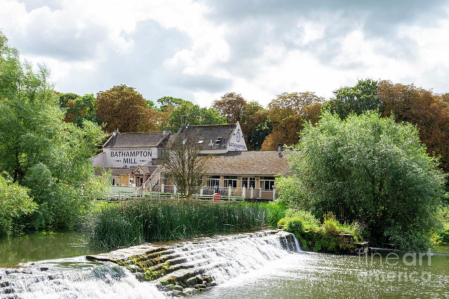 Avon Photograph - Bathampton Mill by Steev Stamford