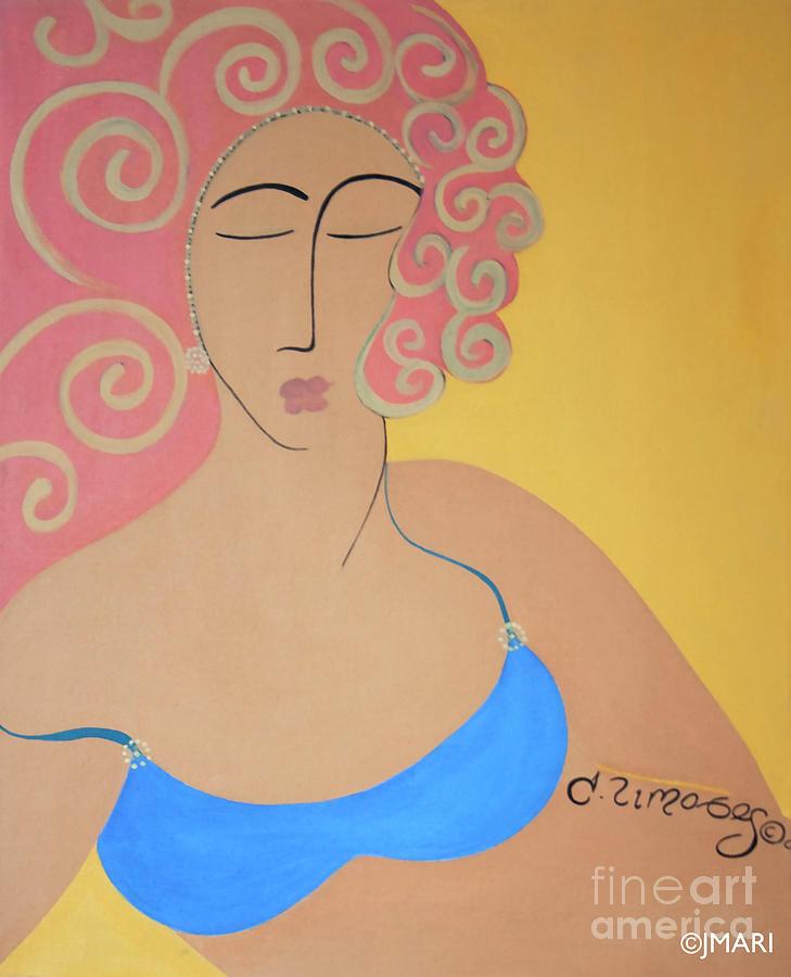 Bathing Beauty Painting by Jacquelinemari