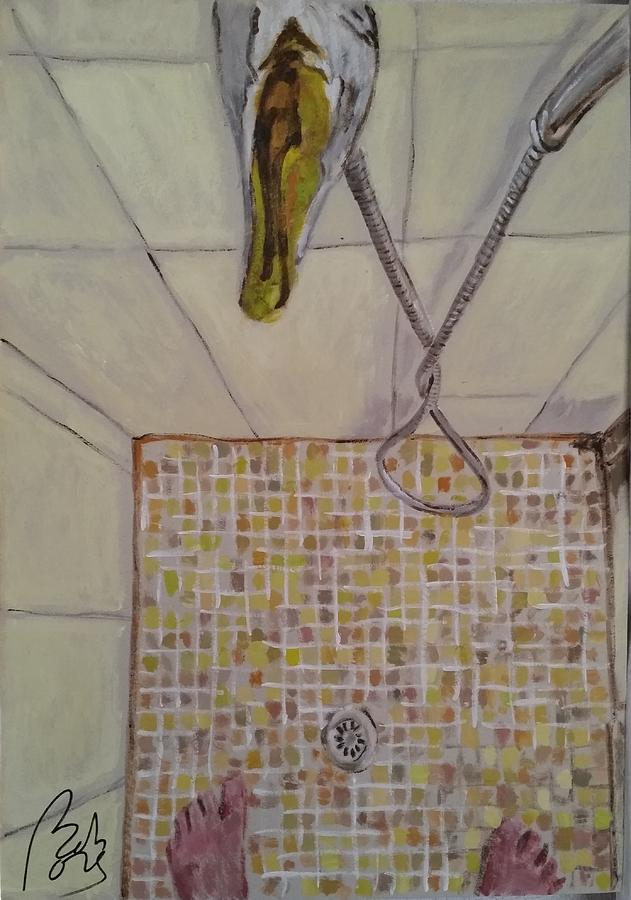 Personal Painting - Bathroom II by Bachmors Artist