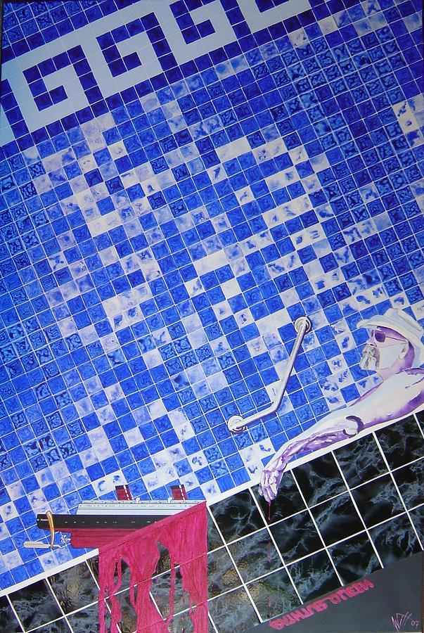 Bathtub Queen Painting by Karel Witt