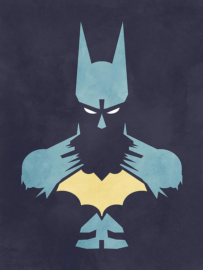 Batman Digital Art - Batman by Jason Longstreet