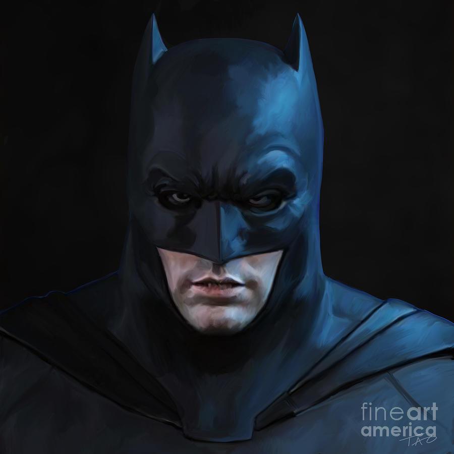 Batman Painting - Batman by Paul Tagliamonte