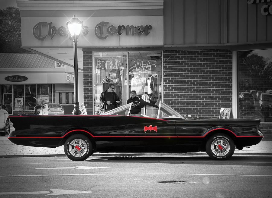 Automobiles Photograph - Batmobile by Nina Bradica