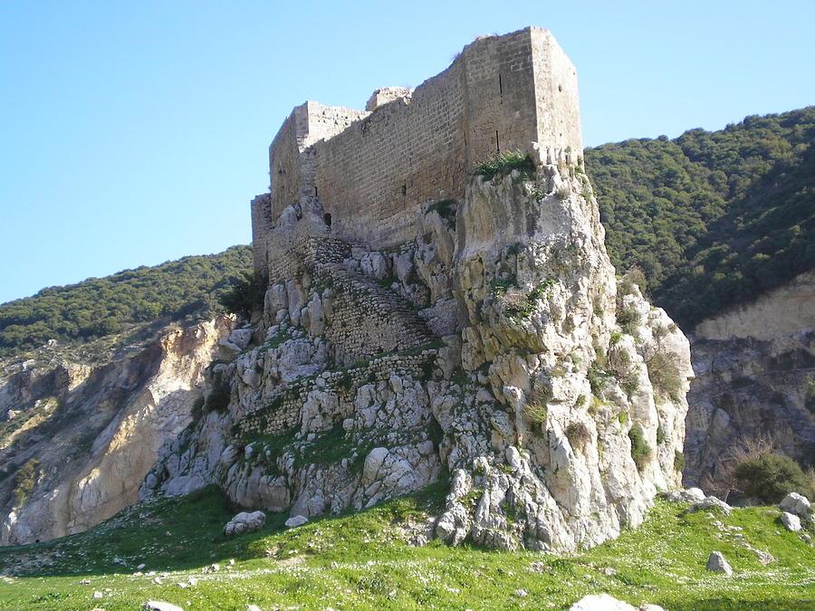 Landscape Photograph - Batroun Castle by Sleiman Moussa