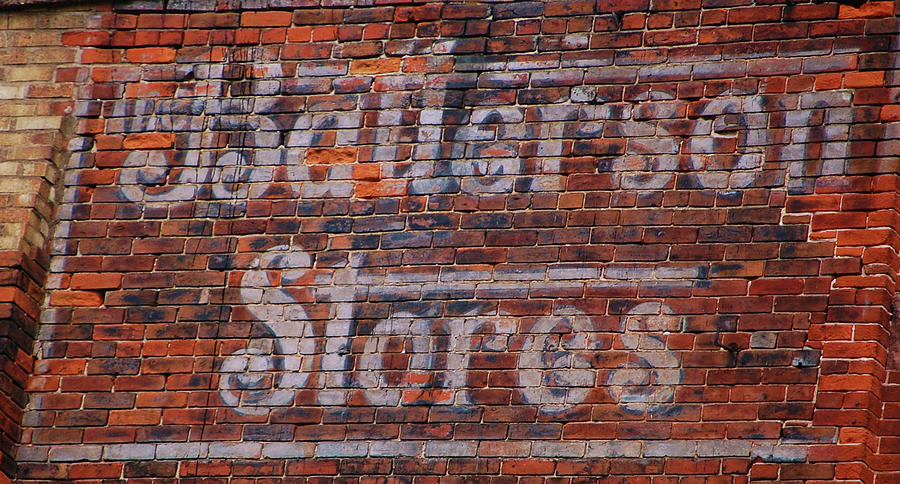 Sign Photograph - Batterson Stores by Jame Hayes