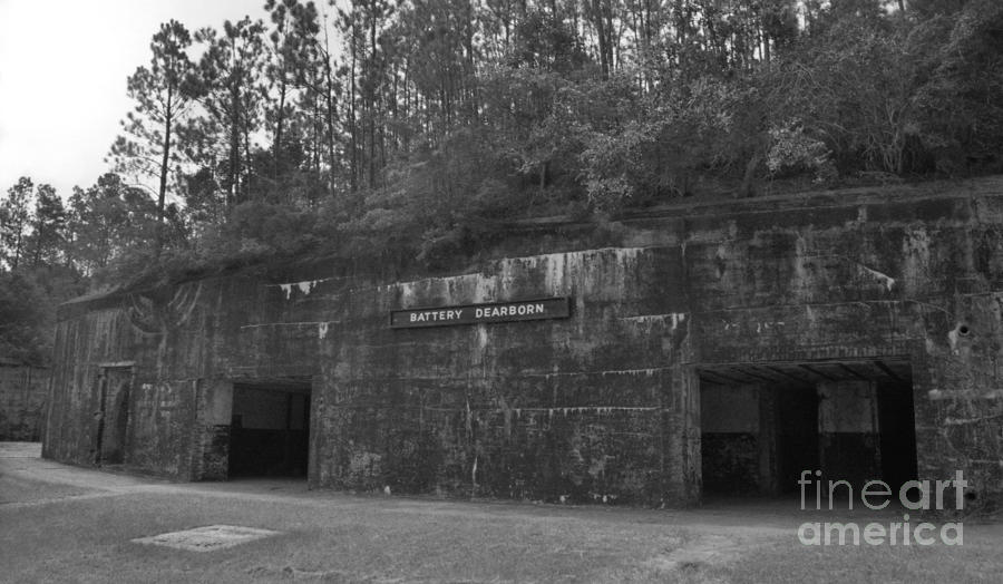 Military Photograph - Battery Dearborn by Richard Rizzo
