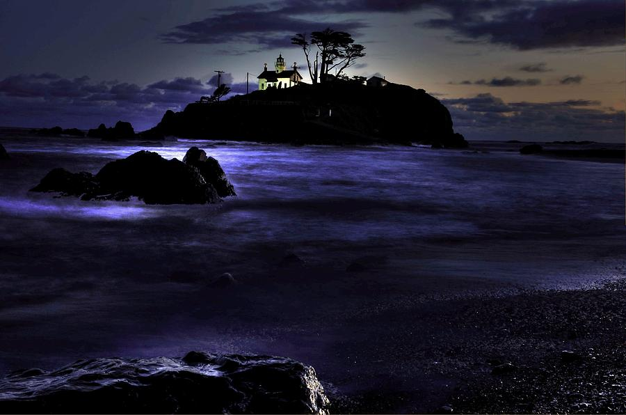 Landscape Photograph - Battery Point 1 by Peter Schumacher