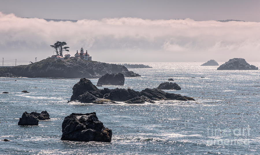 Battery Point Lighthouse And Fog 11 Photograph