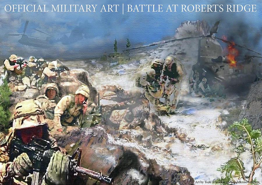 Battle At Roberts Ridge Photograph by Todd Krasovetz