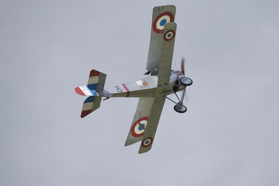 Plane Photograph - Battle Of Britain Memorial Flight by Ian Middleton