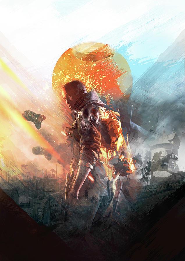 battlefield poster by IamLoudness Studio