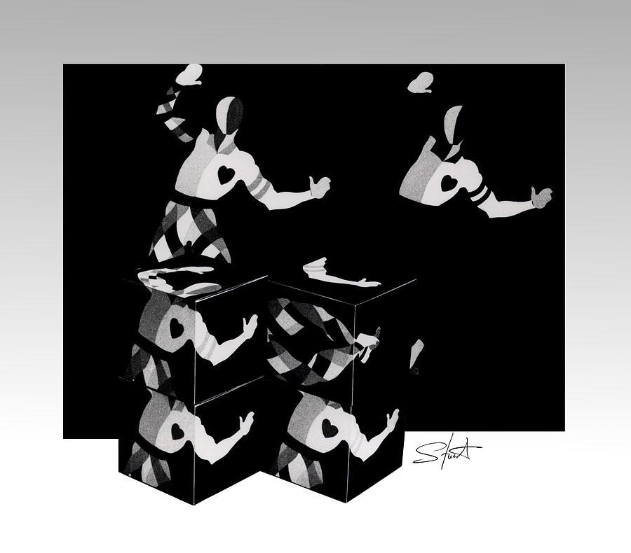 Dance Photograph - Bauhause Ballet by Charles Stuart