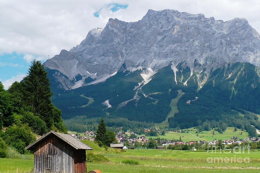 Landscape Photograph - Bavarian Alps Landscape by Carol Groenen