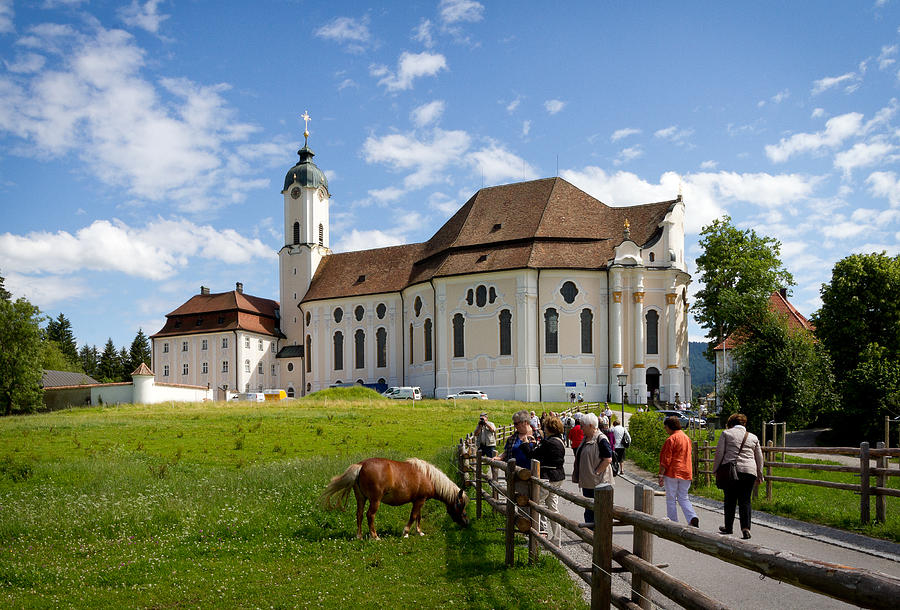 Bavarian pilgrimage church of Wies by Jenny Setchell
