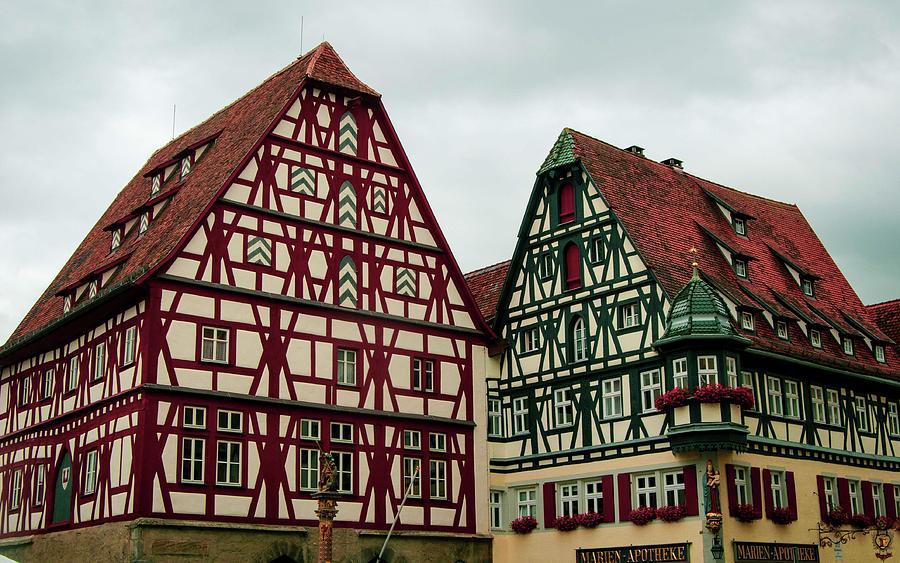 Bavarian Tudor Style Houses by Edward Shmunes