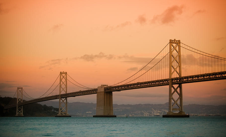 Bay Bridge Photograph - Bay Bridge by Mandy Wiltse