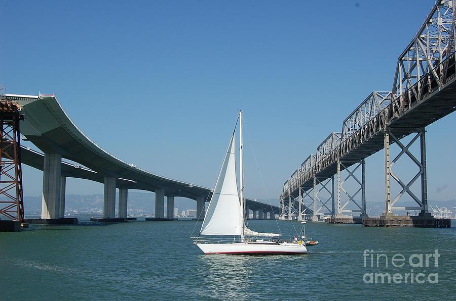 Bay Bridge reconstruction by Mia Alexander