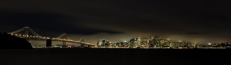 Bay Bridge San Francisco Photograph by C.s.tjandra