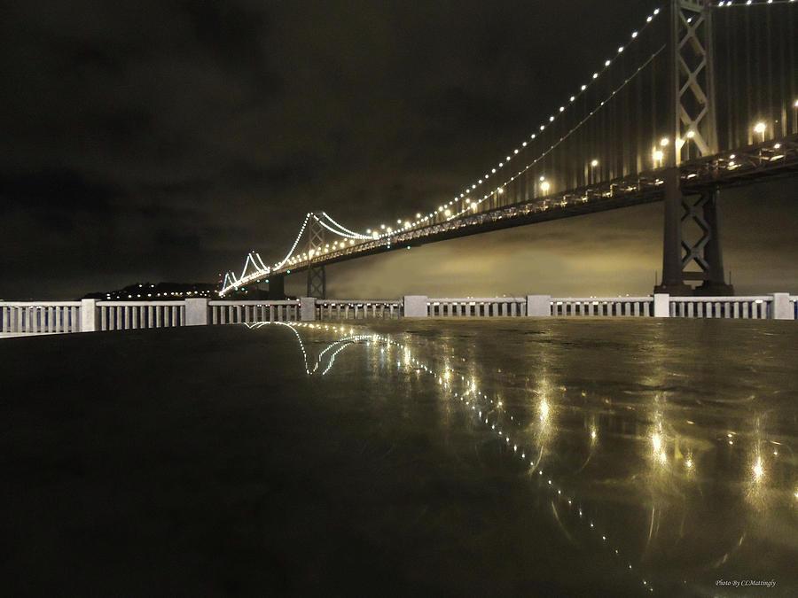 Bay Bridge Photograph - Bay Bridge San Fransico by Coleman Mattingly