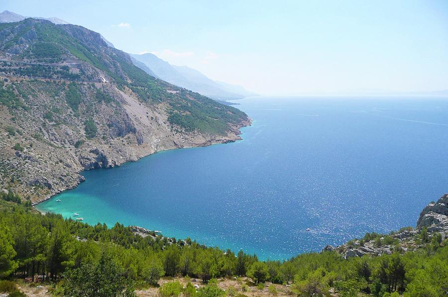 Bay Photograph - Bay Of Adriatic Coast by Olga Kurygina