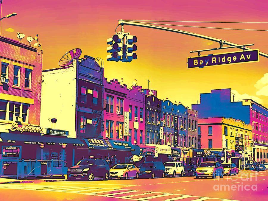 Bay Ridge Pop Art by Onedayoneimage Photography